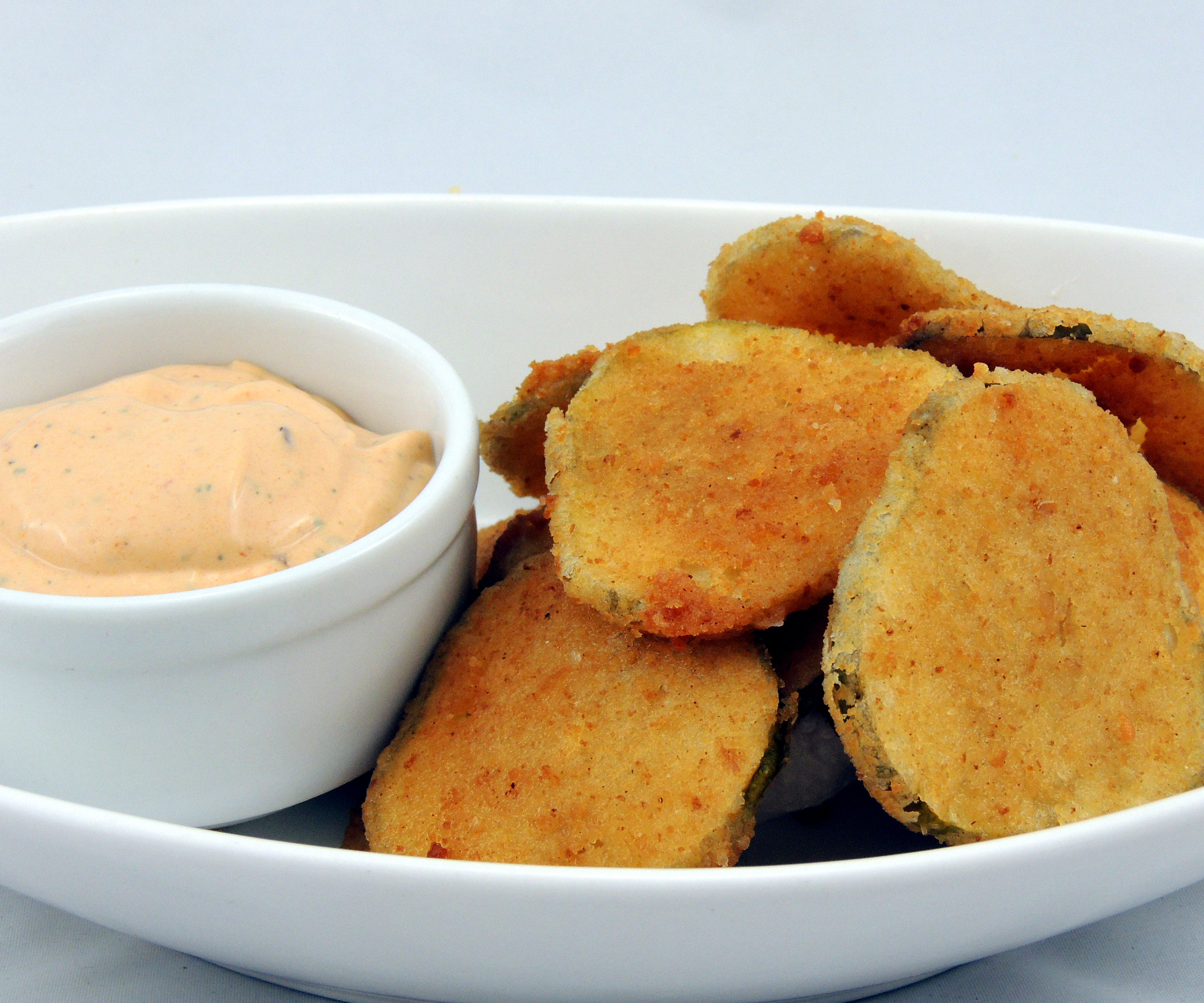 Hot & Spicy Fried Pickles