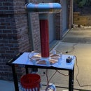 How to Build a 1.1 Million Volt Tesla Coil! : 19 Steps (with Many Pictures)