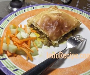 Beef & Cabbage Pastry