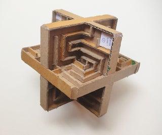 3D Cardboard Labyrinth Maze