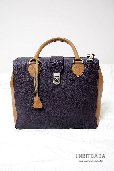 CASUAL FRAME-LEATHER-BAG