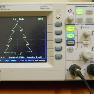 Display Letters and Words on the Oscilloscope