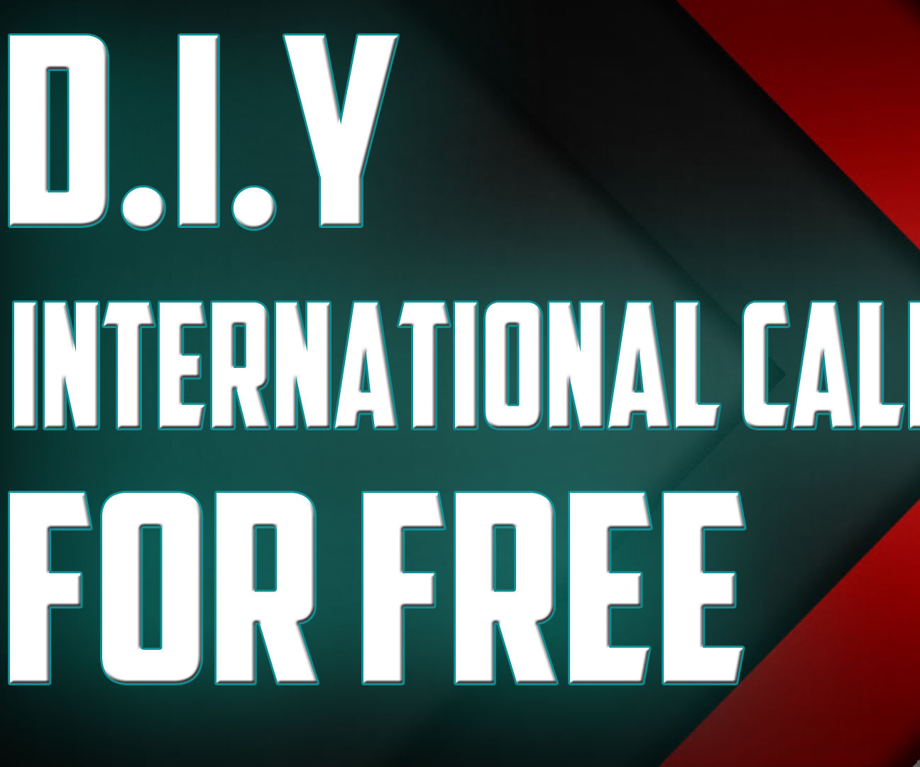 How to make international calls for free