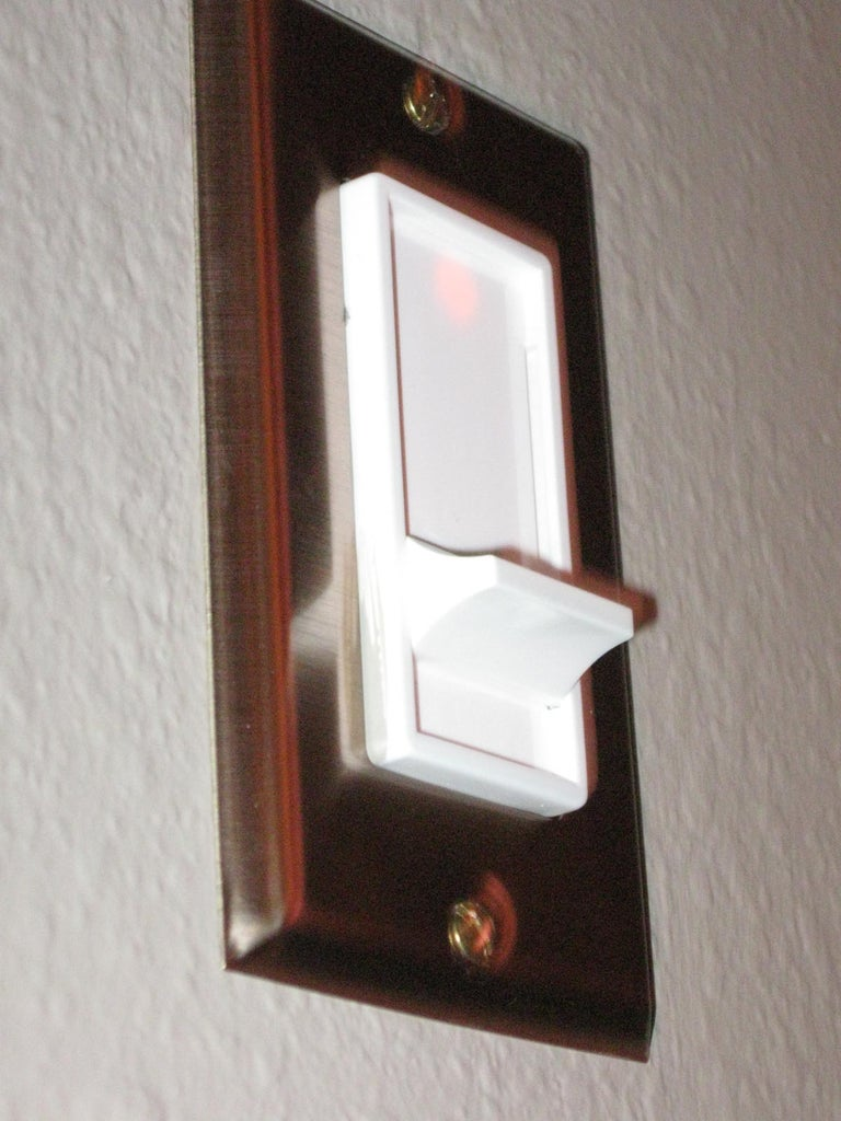 Use Dimmers on Lights