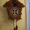Edible Gingerbread Cuckoo Clock with Internal gears