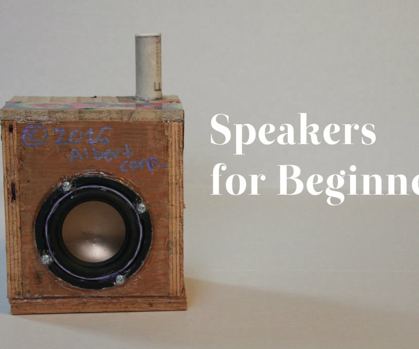 Wooden Speaker for Beginners