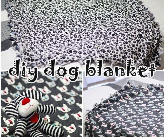 No-Sew Doggie Blankey