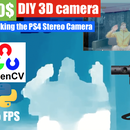 HACK PlayStation 4 Cam Into Cheap 3D Depth Camera With Stereo Vision for Python OpenCV and Linux
