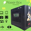 Power Box - Solar Powered Powerbank
