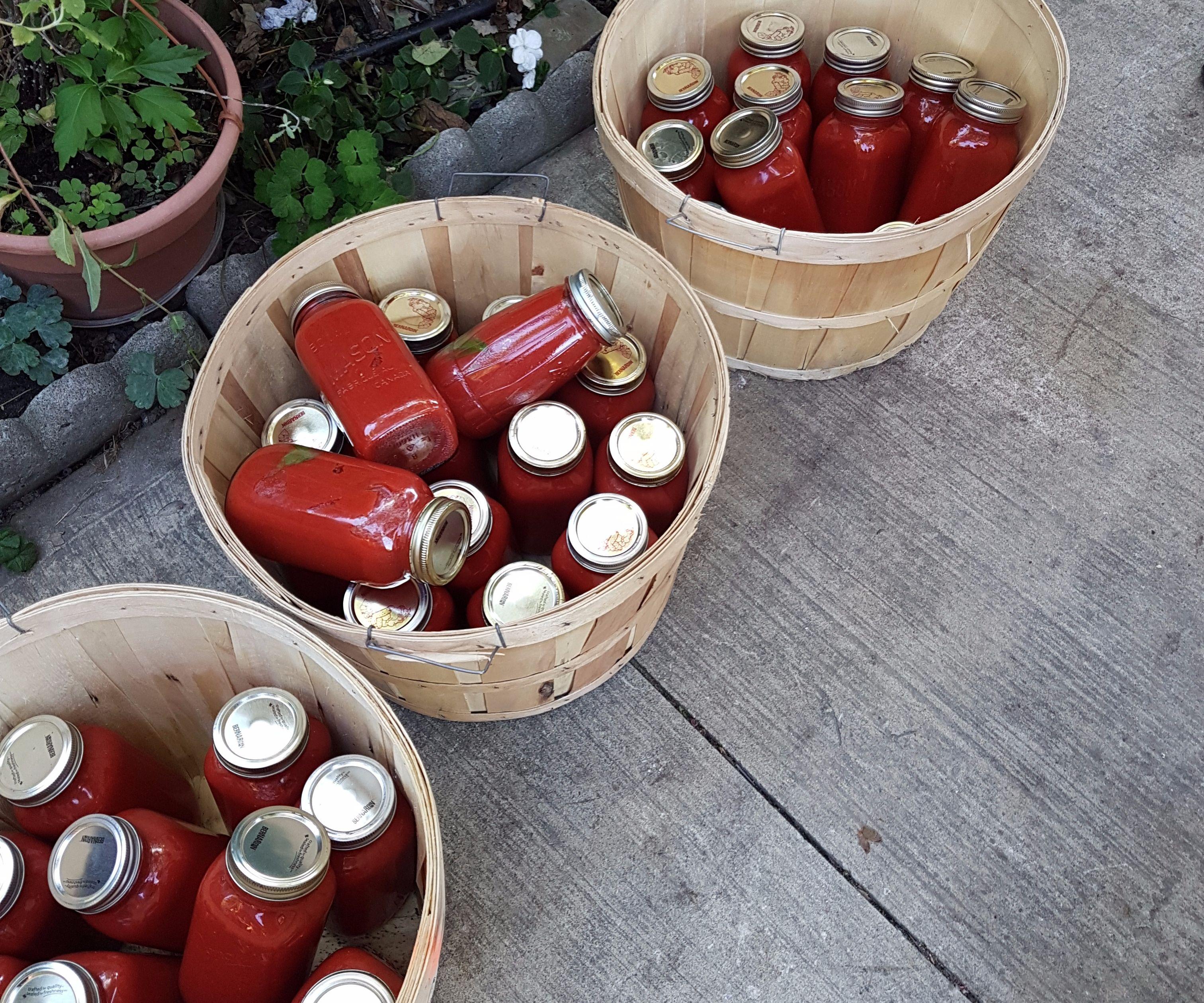 Large Batch Tomato Jars