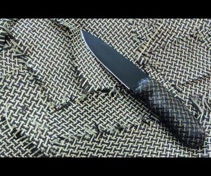 MK: DIY CarbonKevlar Knife