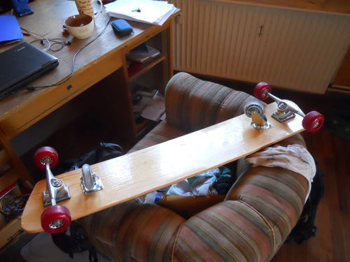 Laterally Slide-able Board (freeboard for the rest of us)