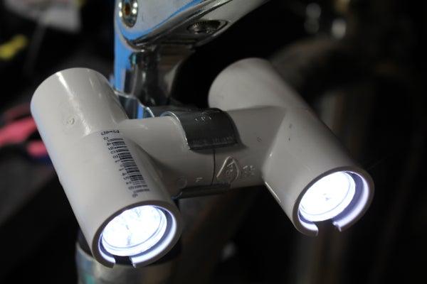 Five Dollar Bike Light