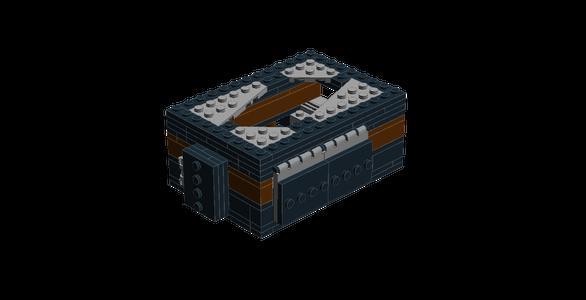 Lego Raspberry Pi Custom Case