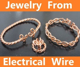 Jewelry From Electrical Wire
