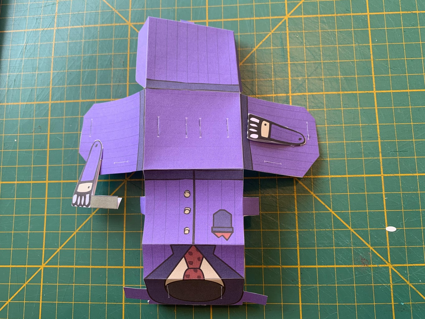 Attaching the Arms and Legs