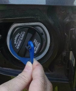 Install the New Gas Cap Tether