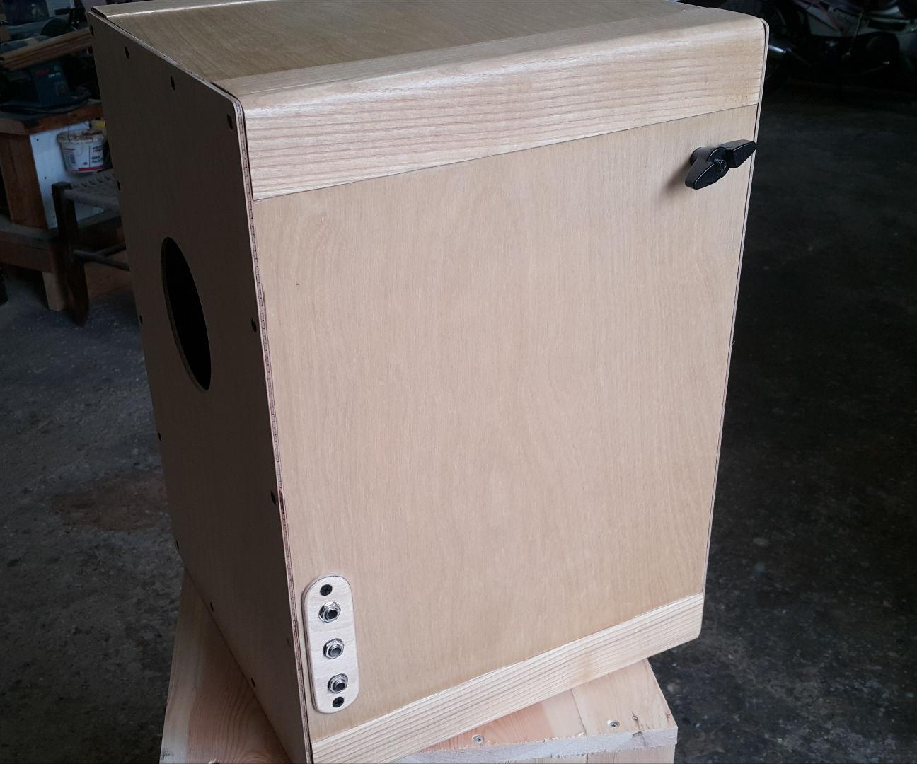 Cajon Hybrid (Αcoustic - Electronic Cajon)