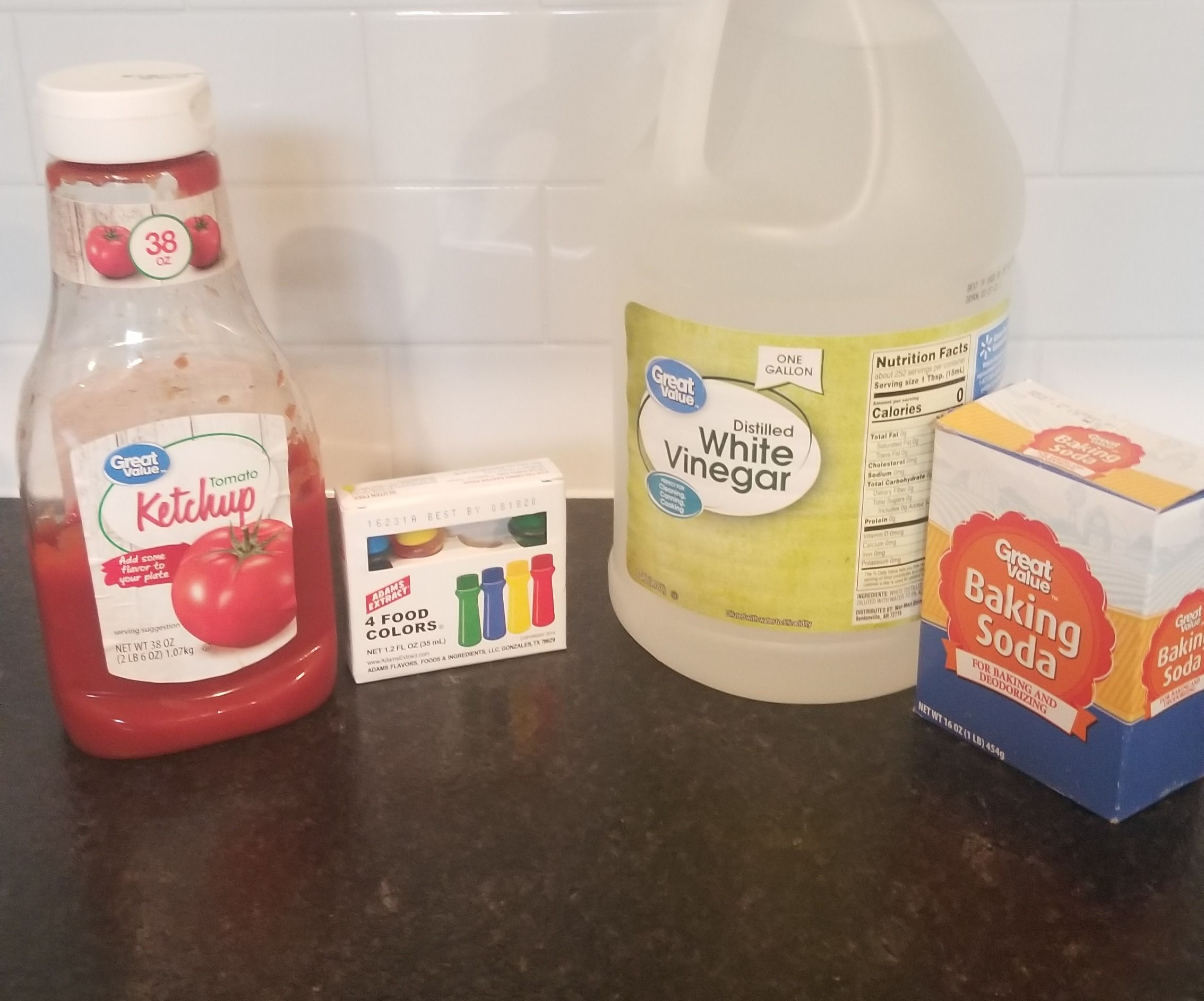 Do Ketchup and Food Coloring Mix?