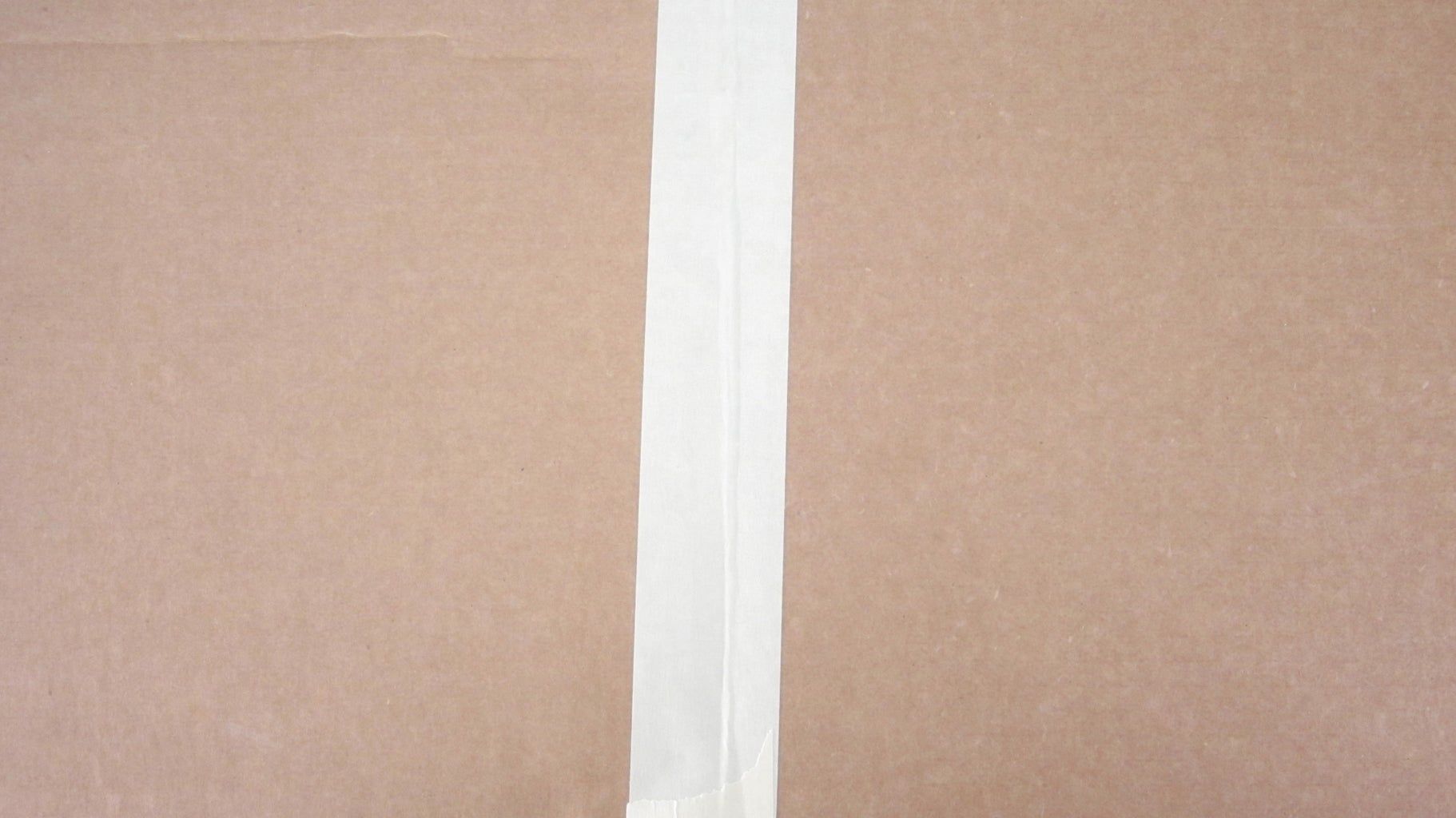Trim the Paper and Attach It to a Cardboard Backing