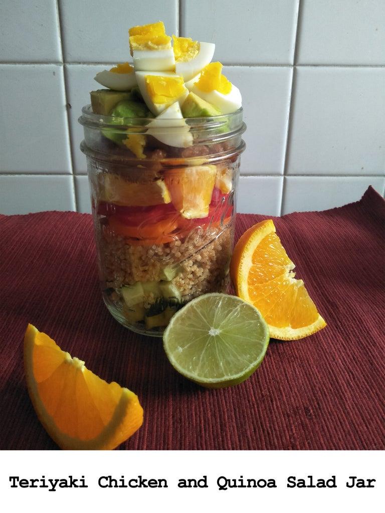 Recipe #2: Teriyaki Chicken and Orange Quinoa Salad Jar
