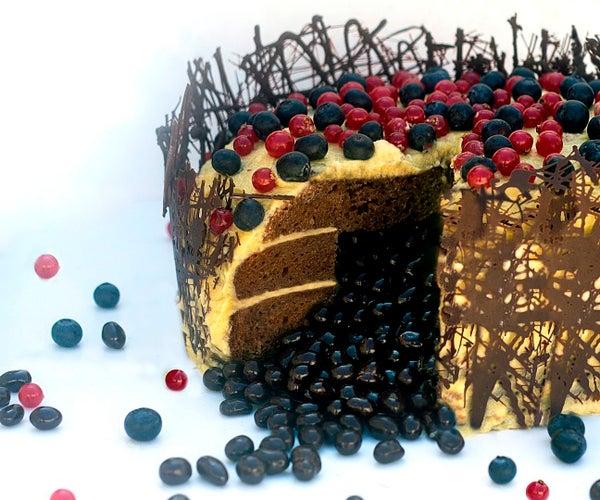 Rebel Velvet Cake (vegan)