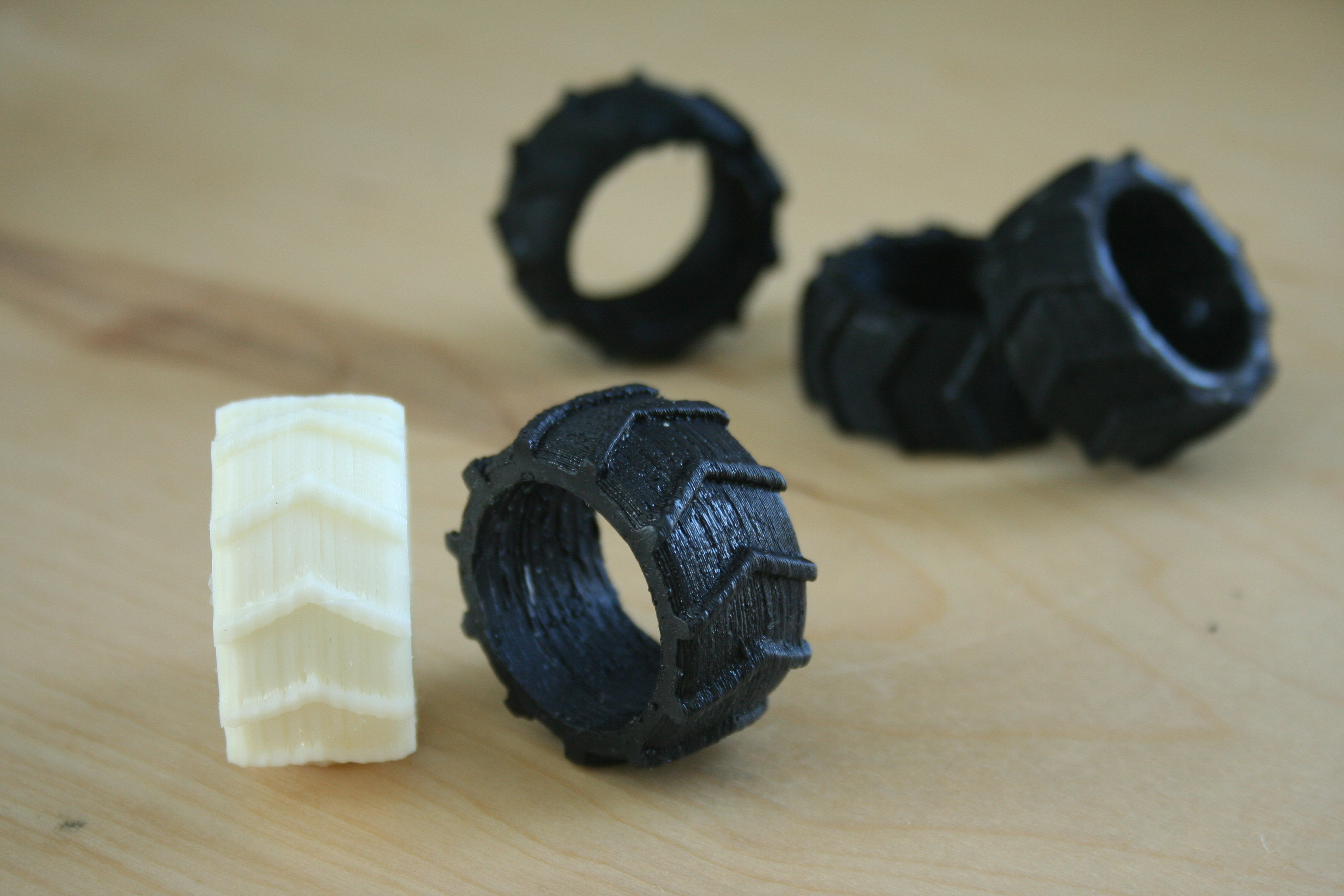 Rapid Prototyping - 3-D Printing to Make Masters