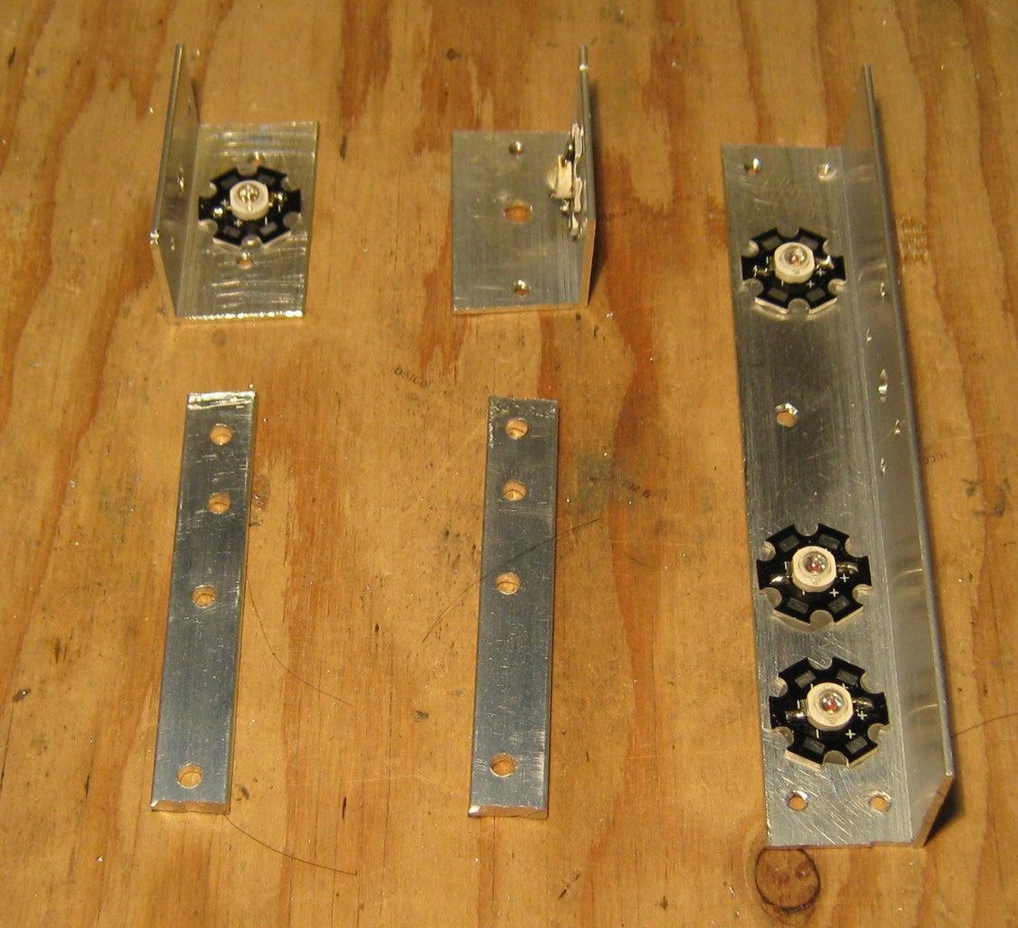 Drill the Aluminum Bars