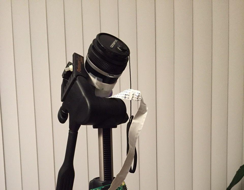 RPI Interchangeable SLR Lens Digital Camera From an Old Camera Lens