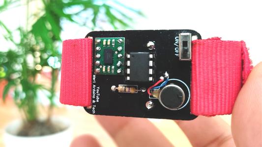 ATtiny85 Wearable Vibrating Activity Tracking Watch & Programming ATtiny85 With Arduino Uno