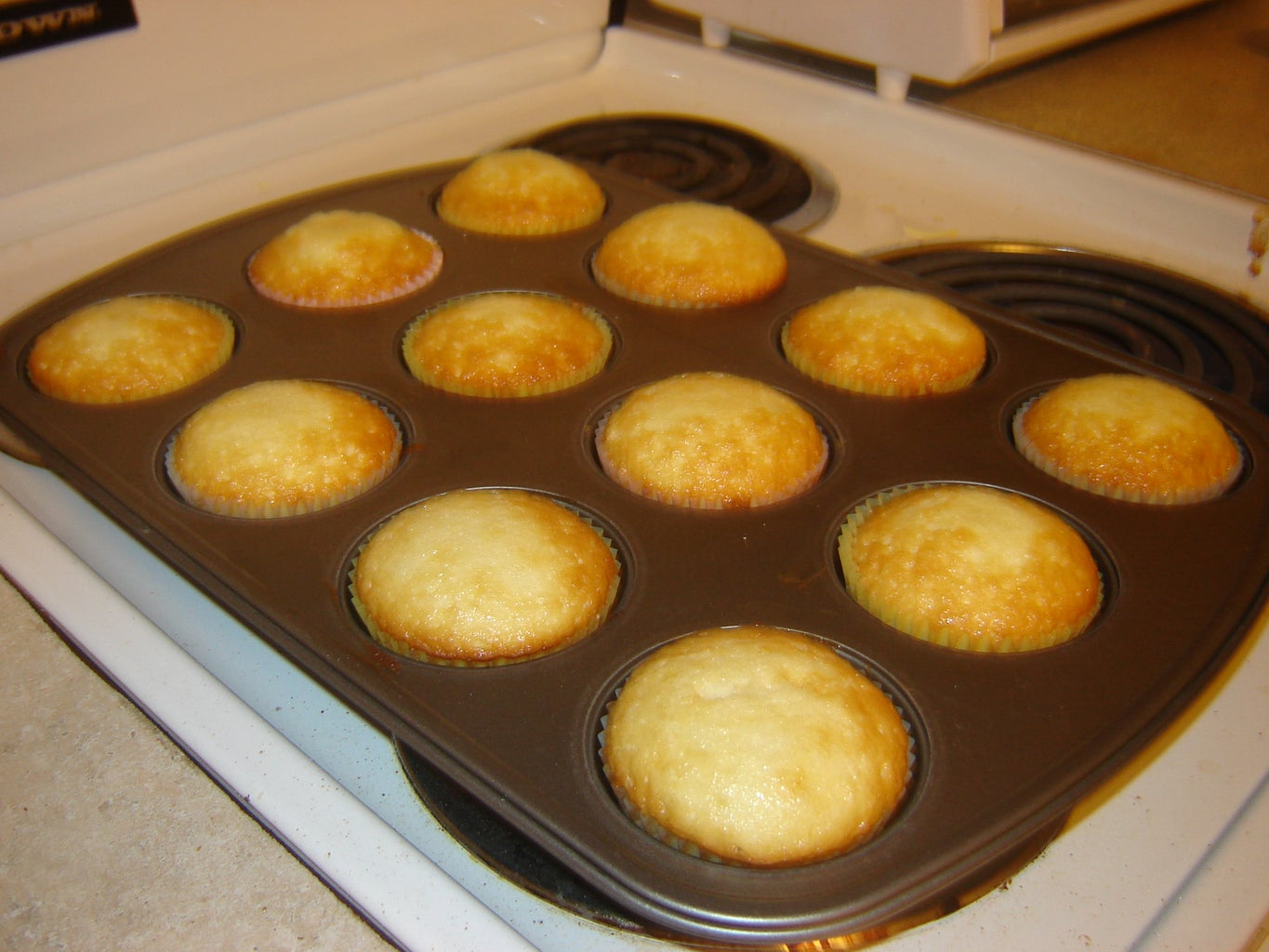 Making the Cupcakes