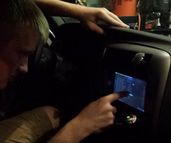 Raspberry Pi Touch Screen Car Computer