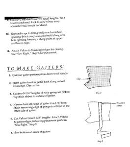 Pattern Instructions