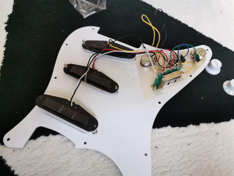 Guitar Electrics and Souldering