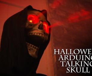 Talking Arduino Halloween Skeleton