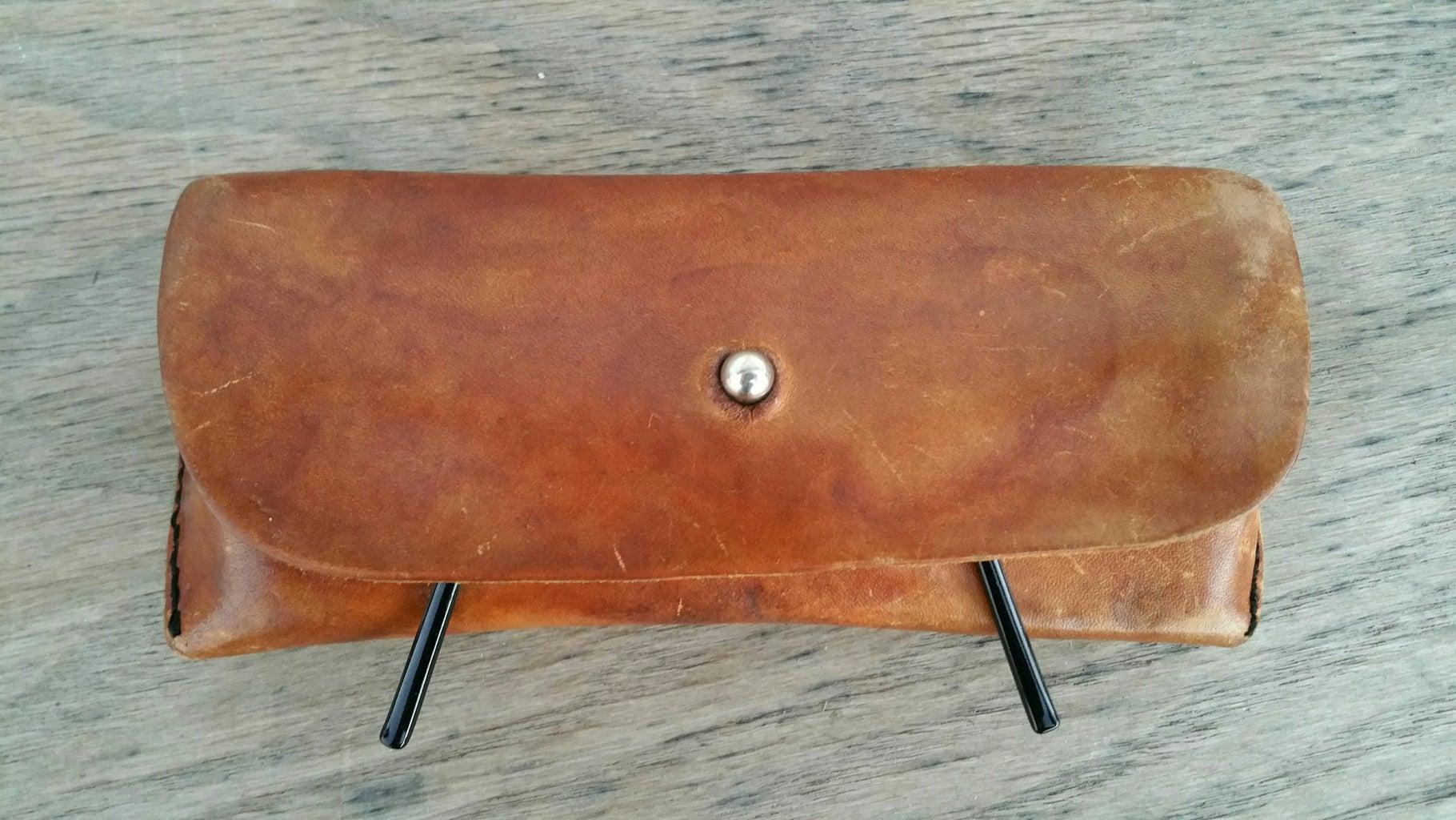 Leather Eyeglass Case