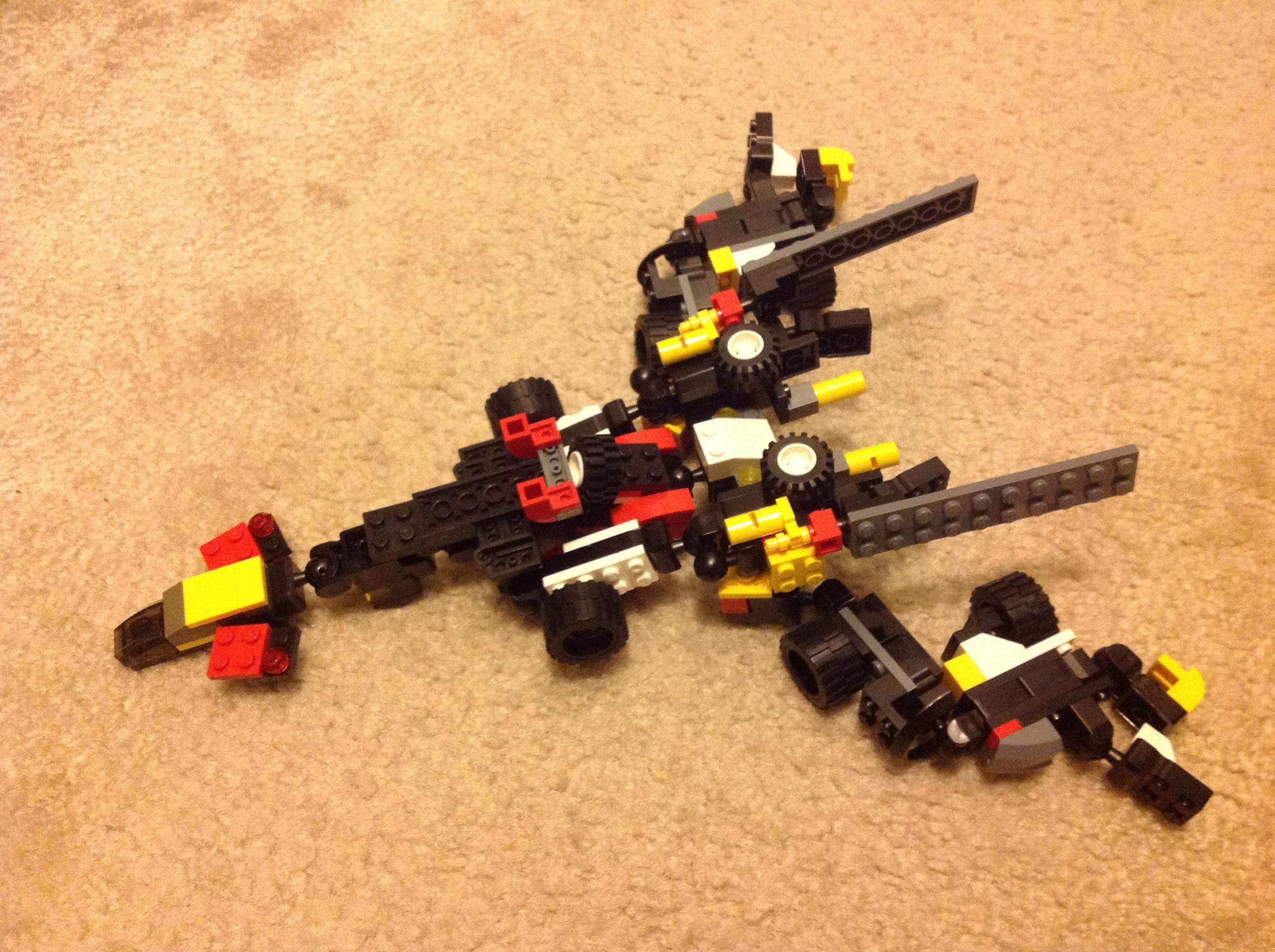 Jetosaur the Lego Transformer