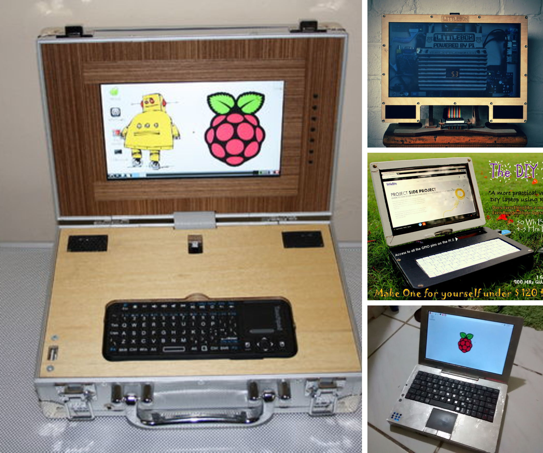 8 Impressive Raspberry Pi Laptops
