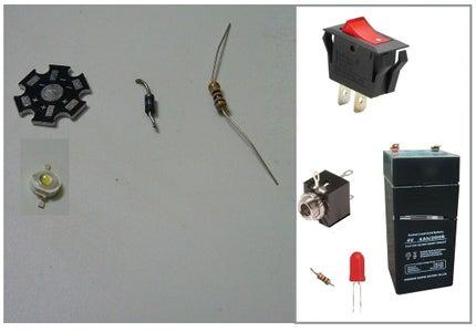 Step 1 - Parts & Tools