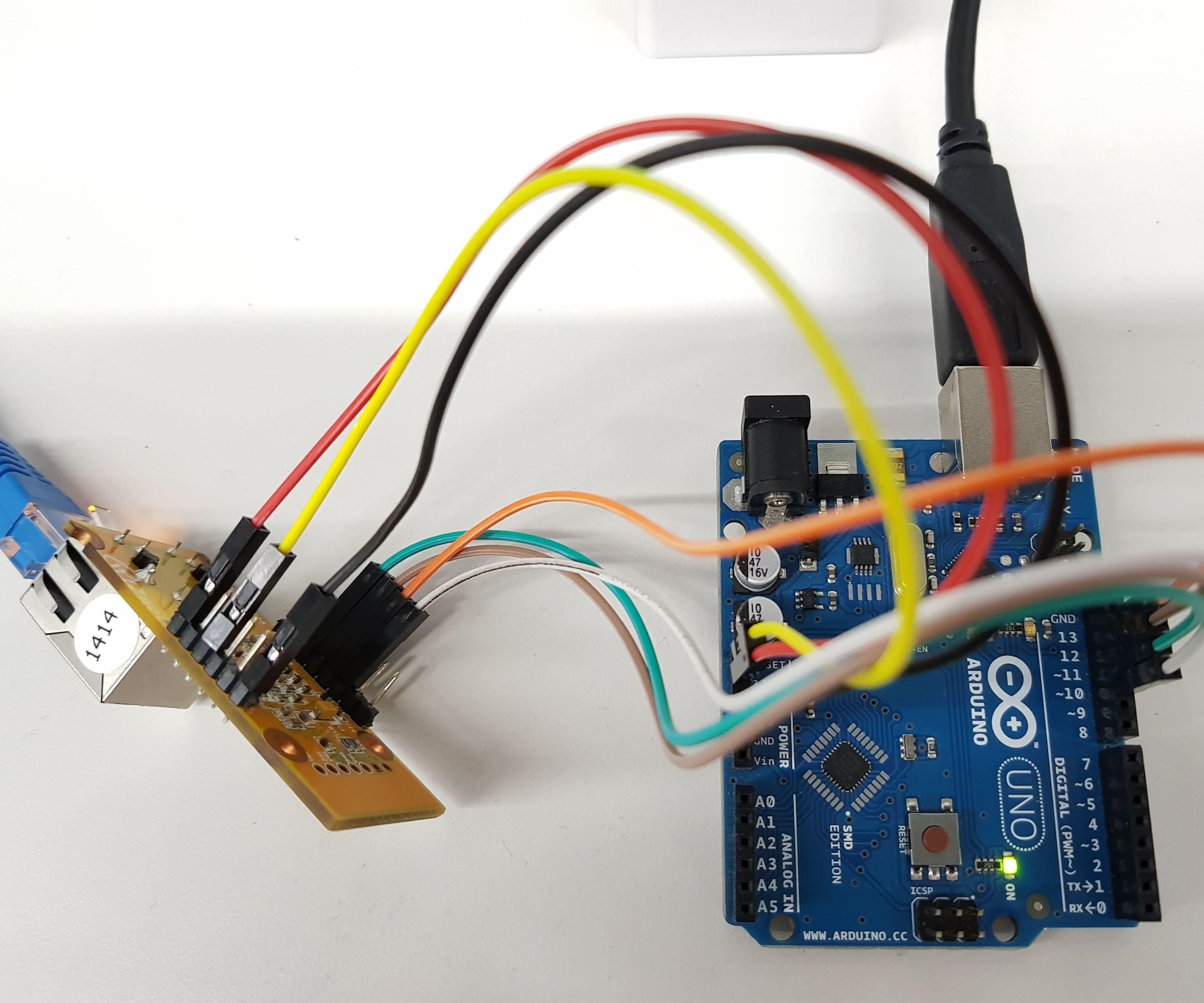 To Use WIZ550io in Arduino Platform : Arduino UNO