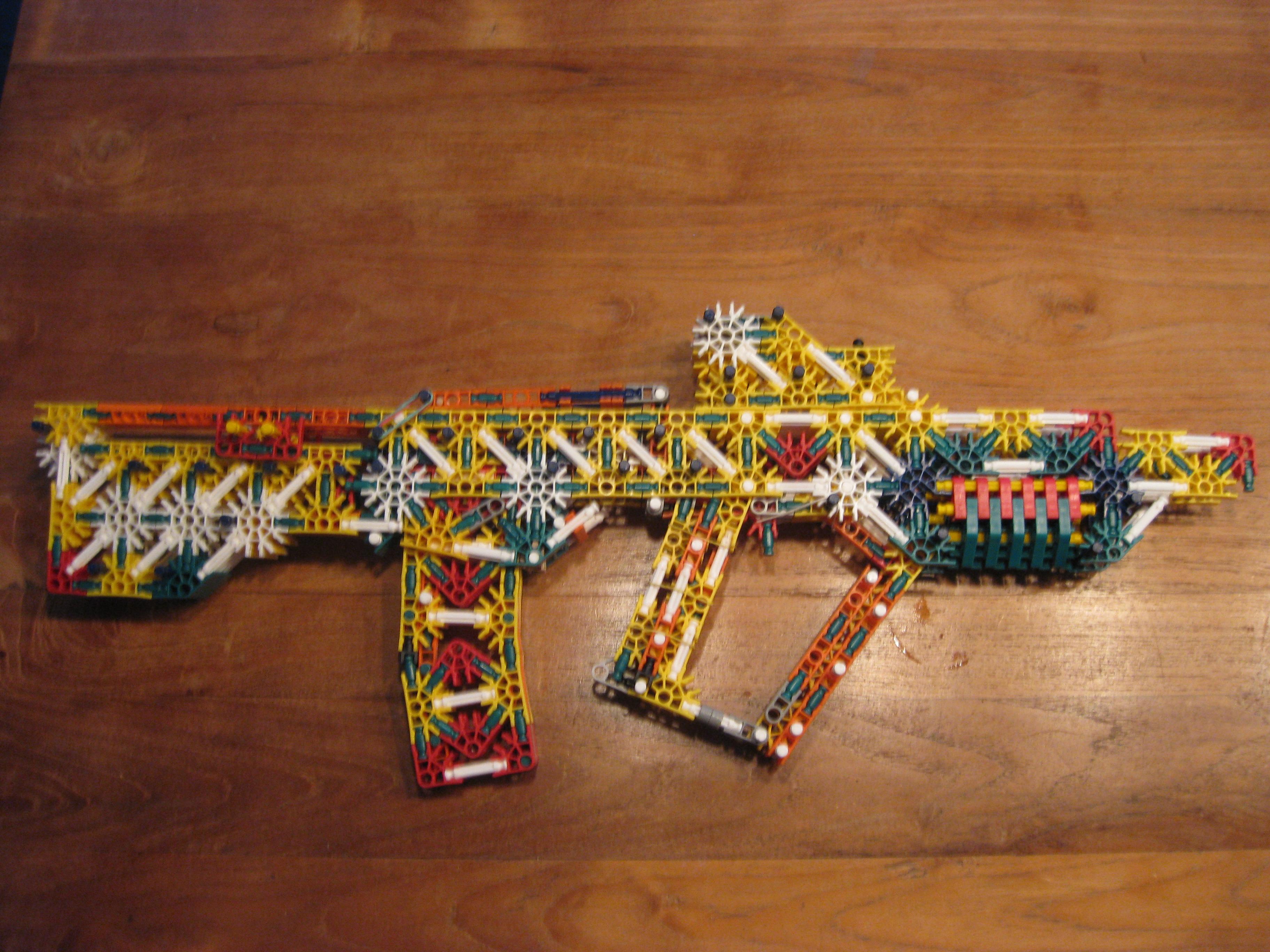 knex bullpup rifle T.A.R 21