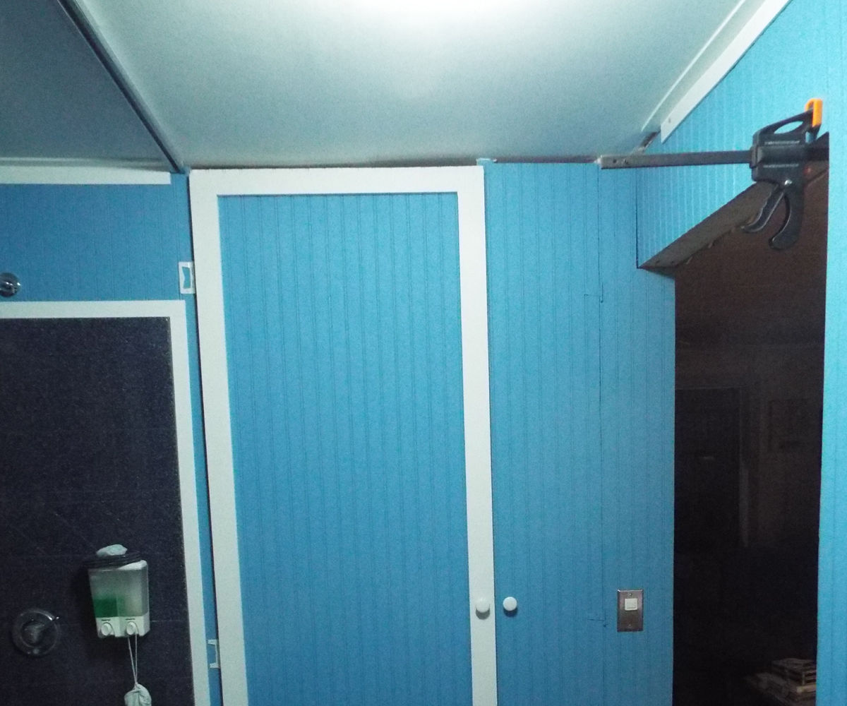 Bathroom Linen & Broom Closet From Wasted Space