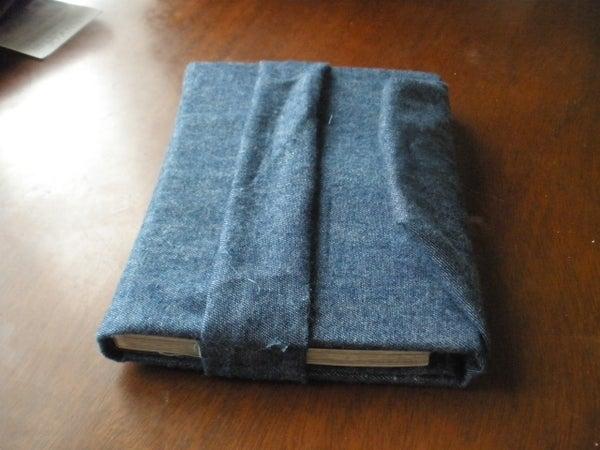 No Sew Book Protector