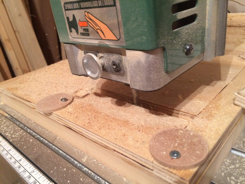The CNC Machine Hard at Work