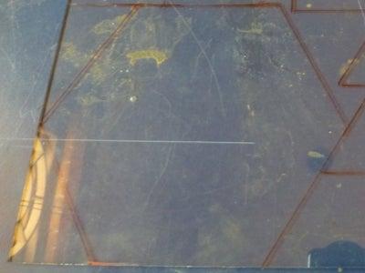 Mark on Glass