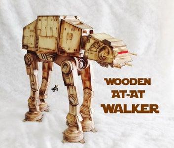 Wooden AT-AT Walker