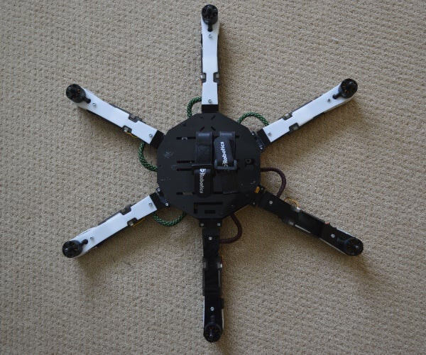 S530 Hexacopter --The 3D-Printed Frame