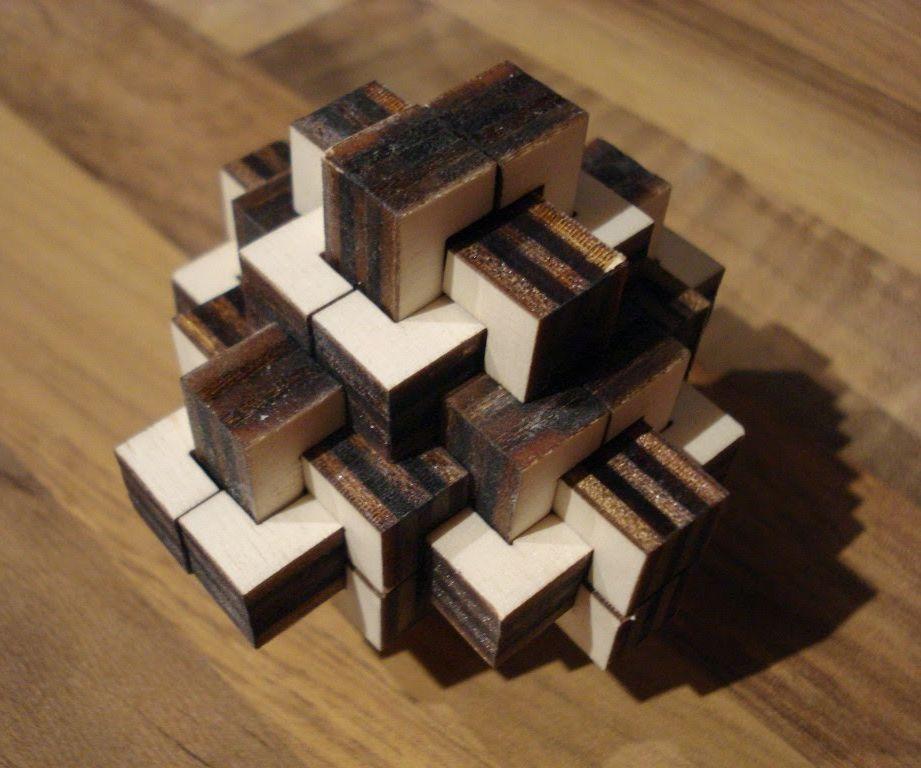Laser cut puzzle collection