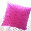 Simple cushion cover