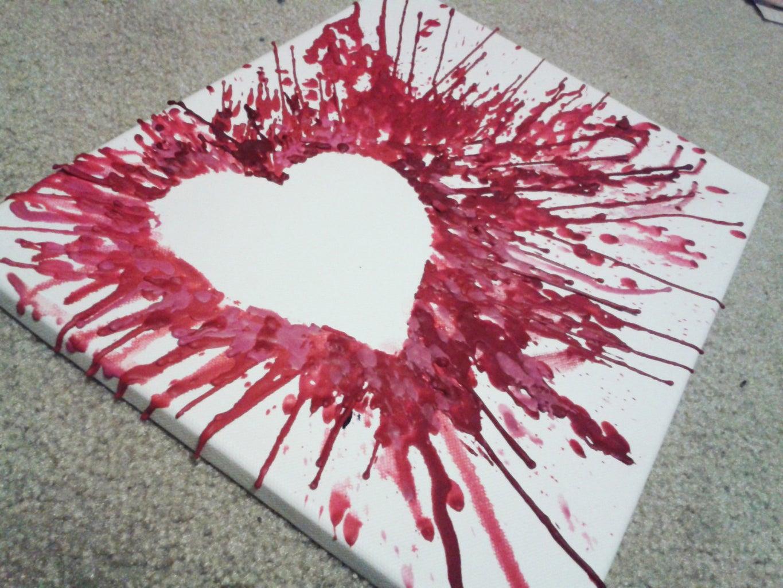 Wax Canvas Art